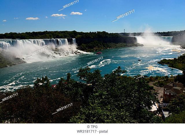 Niagara Falls/ spot- Niagara Falls (panoramic view)