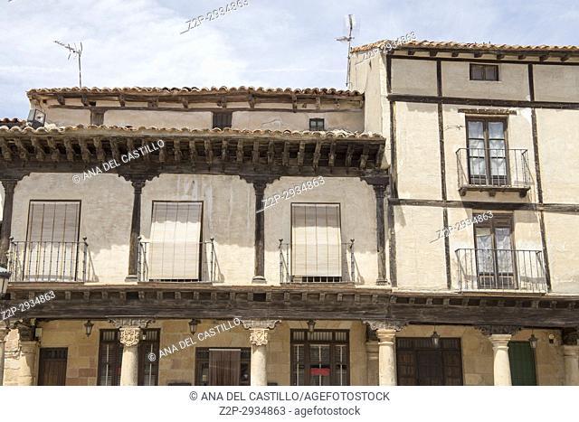 Route of Cid and Don Quixote, Atienza village in Guadalajara, province, Castilla-La Mancha, . Spain
