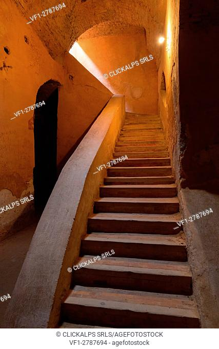 North Africa,Morocco,Meknes district. Ancient dungeon of Meknes