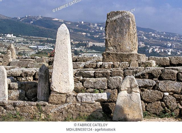Medieval city - Obelisk temple