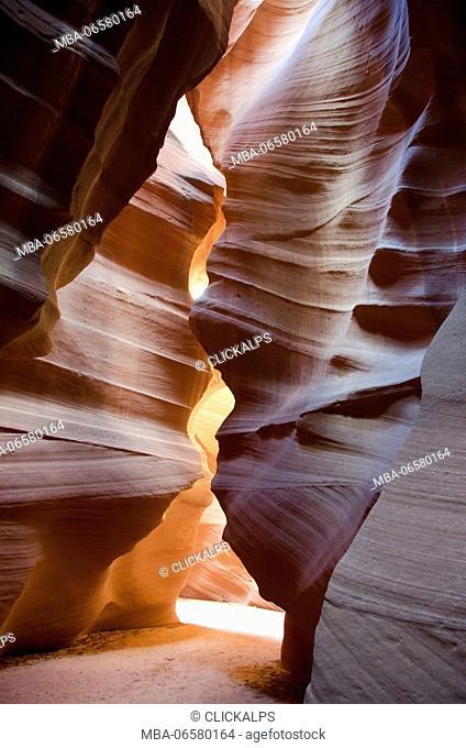 Antelope canyon, Utah, USA