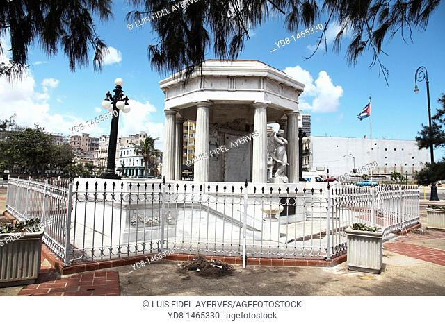 Monument dedicated to medical students shot in the 50&39, s in Havana, Cuba