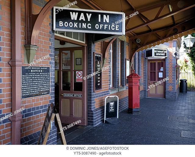 Kidderminster Severn Valley Railway Station, Kidderminster, Worcestershire, England, Europe