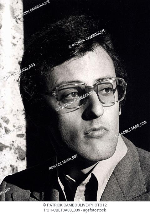 Jean Reno, french actor. 1974 Photo Patrick Camboulive. It is forbidden to reproduce the photograph out of context of the promotion of the film