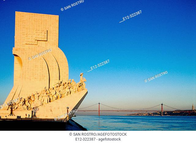 Monument of the Discoveries. Lisbon. Portugal