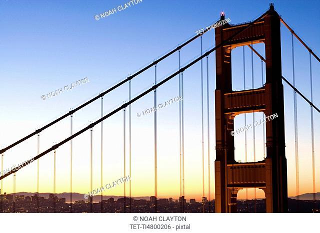 USA, San Francisco, Golden Gate Bridge