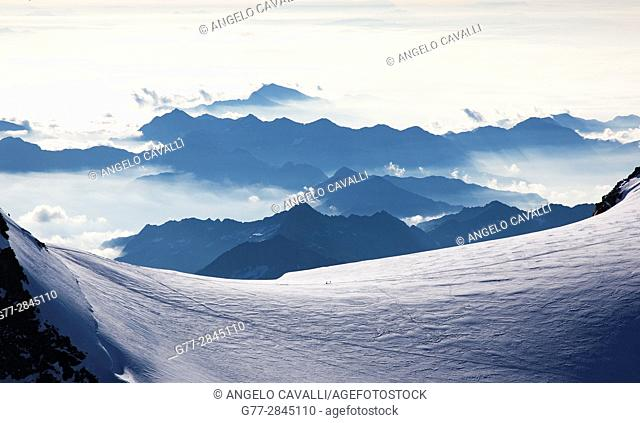 Italy. Piedmont Region. Alps. Monte Rosa