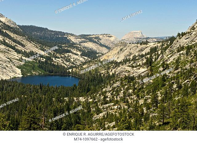 Merced Lake and Half Dome, Yosemite National Park, California, USA