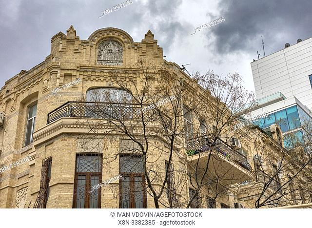 Vintage apartment building, Baku, Azerbaijan