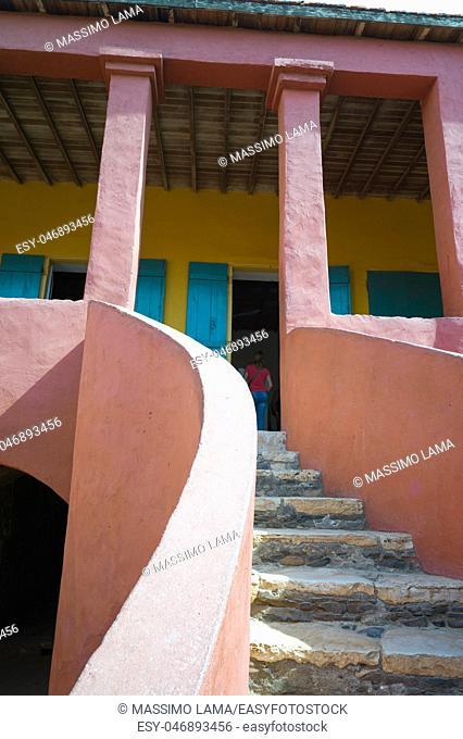 Gorée, island near Dakar, is known as the location of the House of Slaves