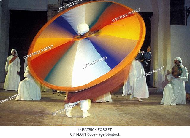 WHIRLING DERVISH, CAIRO, EGYPT