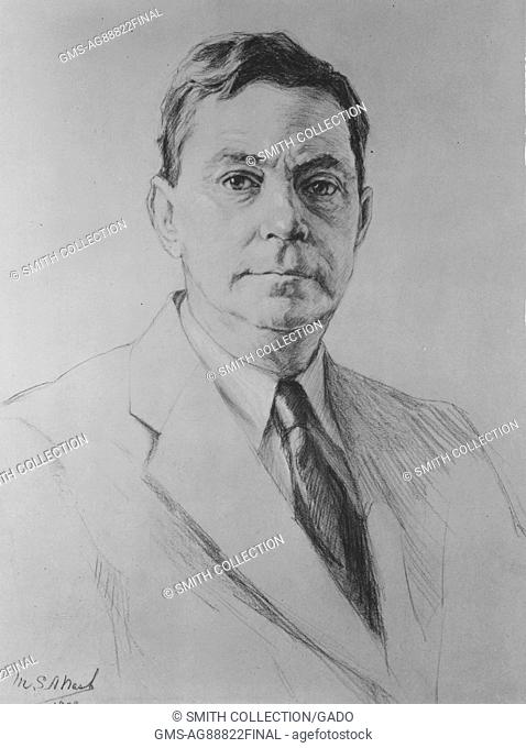 Dr. Robert D W Connor, first archivist of the United States, 1940. Image courtesy National Archives