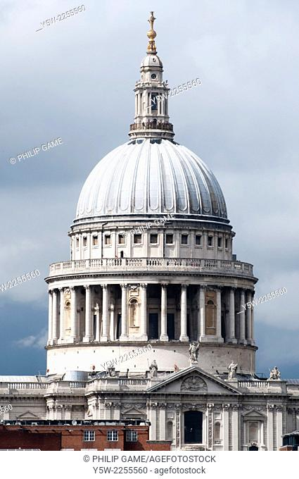 Dome of St Pauls Cathedral, London