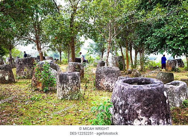 The Phonsavan Plain of Jars, site 3; Laos