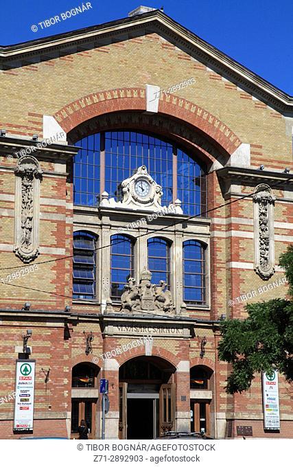 Hungary, Budapest, Buda, Market Hall,