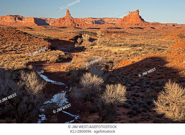 Mexican Hat, Utah - Valley of the Gods in Bears Ears National Monument
