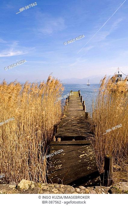 Base in Chiemsee lake, Bavaria, Germany