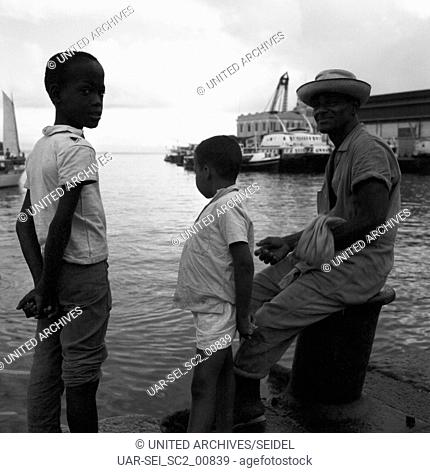 Menschen in Bahia, Brasilien 1960er Jahre. Faces of Bahia, Brazil 1960s