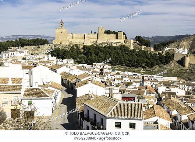 Alcazaba de Antequera, siglo XIV, Antequera,Andalucia, Spain