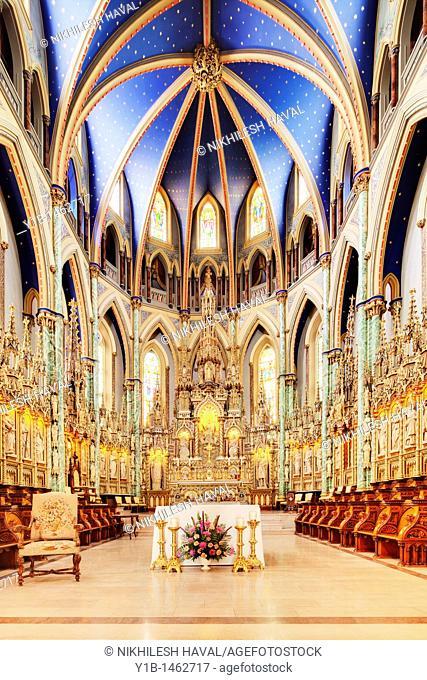 Notre Dame Cathedral, Ottawa, Ontario