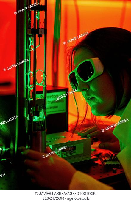 Research to studying the laws of magnetism, optics, and electronics at the scale of atoms and molecules. Low-temperature Scanning-Probe Microscopy to study the...
