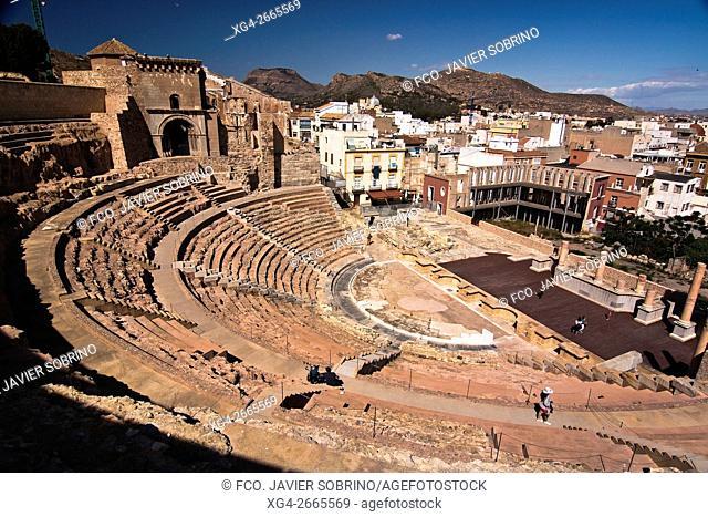 "Teatro romano """"Cartagena """"Murcia """"España - Europa"