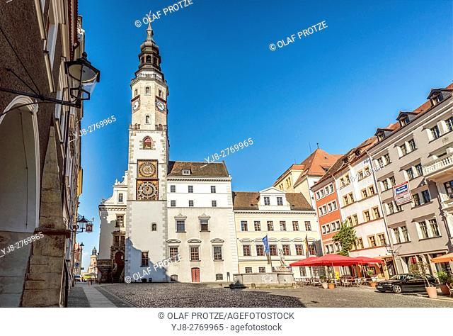 Town Hall of Goerlitz, Saxony, Germany