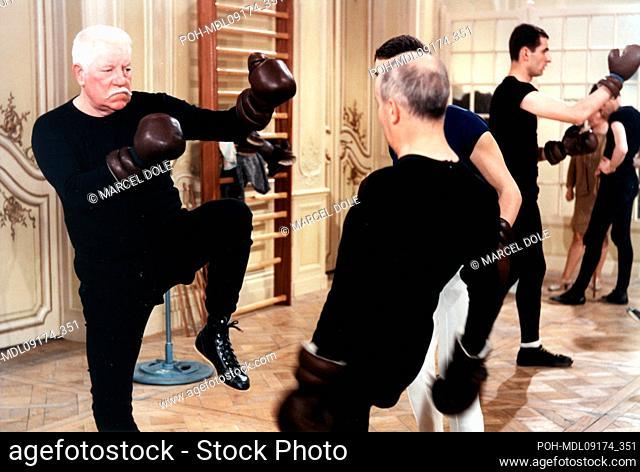 Le tatoué  Year: 1968  Director: Denys de La Patellière Louis de Funès, Jean Gabin. It is forbidden to reproduce the photograph out of context of the promotion...
