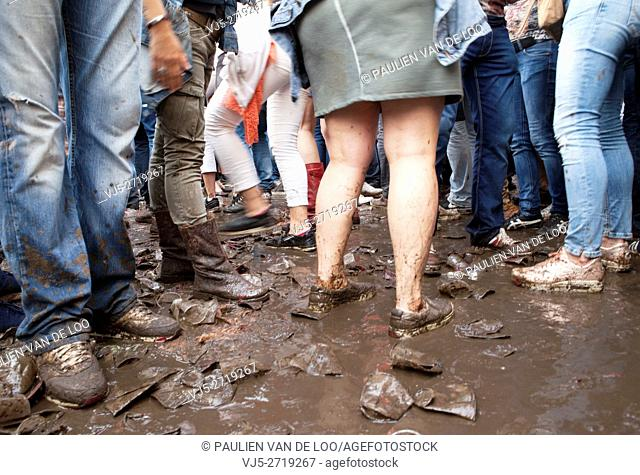 Event goers defy, bust the mud at The Flying Dutch Eindhoven Event