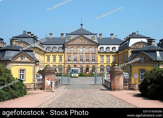 barockschloss arolsen in waldeck