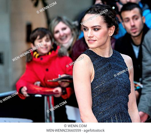 Arrivals for the Jameson Empire Awards 2016 at the Grosvenor House Hotel Featuring: Daisy Ridley Where: London, United Kingdom When: 20 Mar 2016 Credit: WENN