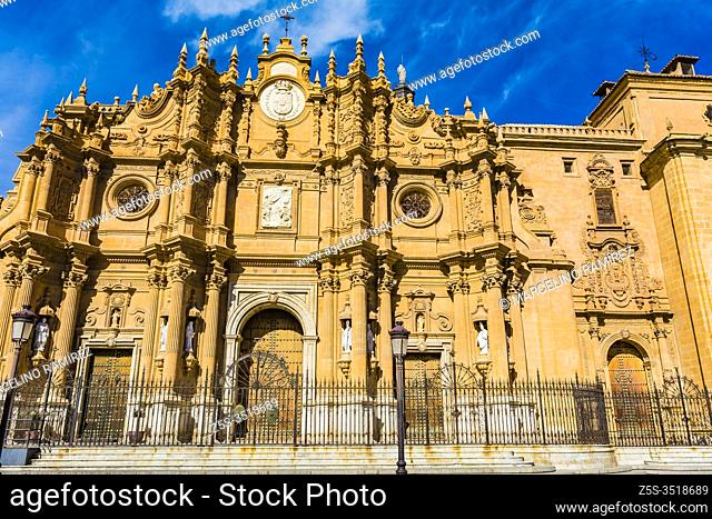 Guadix Cathedral, Cathedral of Guadix, or Cathedral of the Incarnation. Construction of the building began in the 16th century and was completed in the mid-18th...