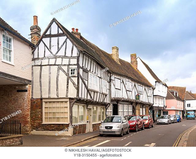 Chanters House & Sandwich Weavers, Strand Street, Sandwich, Kent, UK