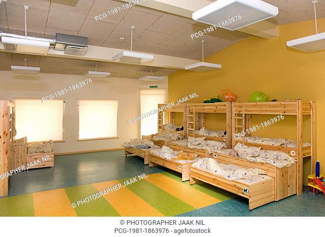 Kindergarten Nap Room