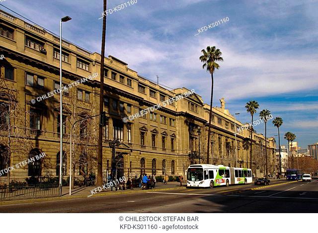 Chile, Santiago, Catholic University of Chile, Libertador General Bernardo O'Higgins Avenue
