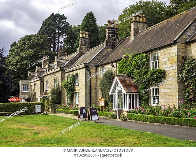 The Moors National Park Centre at Danby North York Moors Yorkshire England
