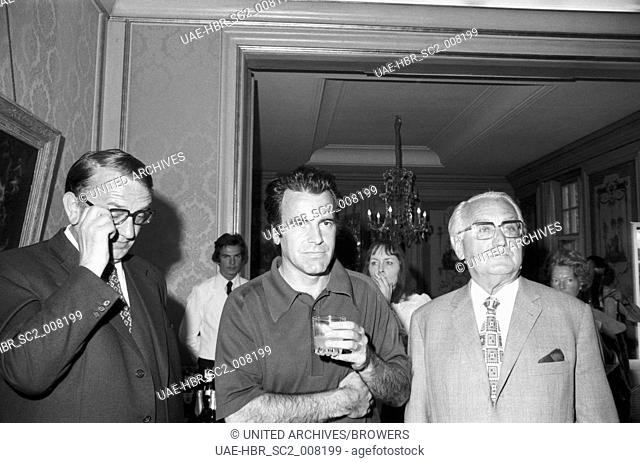 Der Osterreichisch Schweizerische Schauspieler Maximilian Schell Deutschland 1970er Jahre Stock Photo Picture And Rights Managed Image Pic Uae Hbr Sc2 008198 Agefotostock
