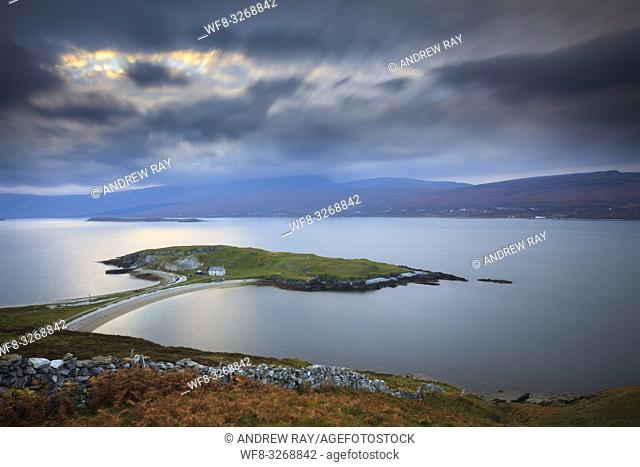 Ard Neackie on Loch Eriboll in the North West Highlands of Scotland, captured on a stormy afternoon in late October