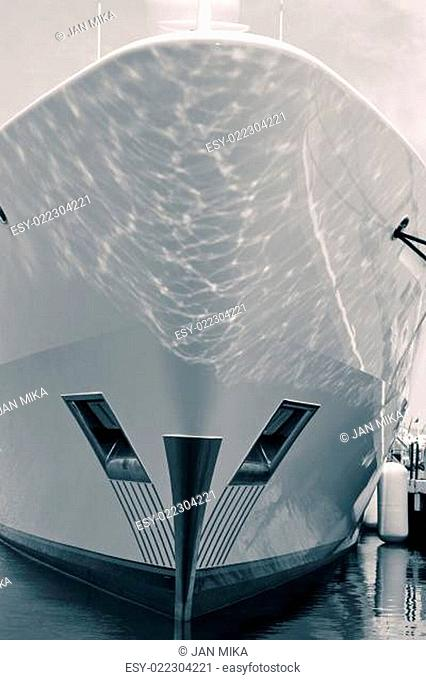Luxury ship detail