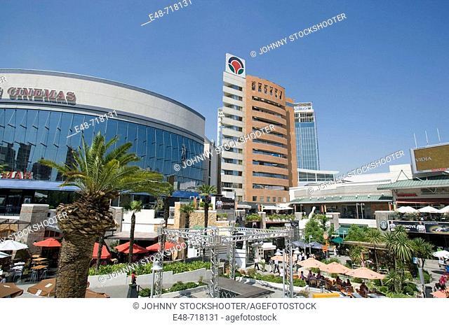 Plaza las condes shopping mall. Santiago. Chile
