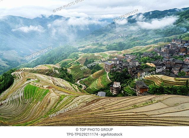 Longji Rice Terraces;Guilin;China