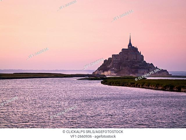 Mont Saint Michel, Brittany, France