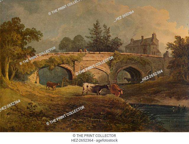 'Eltham Bridge, Kent', 19th century, (1935). From A Catalogue of the Pictures and Drawings in the Collection of Frederick John Nettleford, Volume II