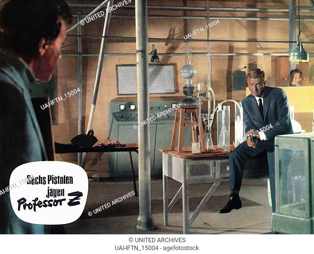 Comando de asesinos, aka: Sechs Pistolen jagen Professor Z, aka: Sette Killers A Caccia Del Prof Z, Deutschland/Spanien/Portugal 1966, Regie: JulioColl