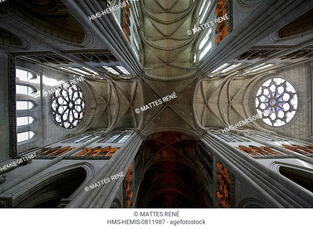 France, Loire Atlantique, Nantes, European Green Capital 2013, Saint Nicolas basilica