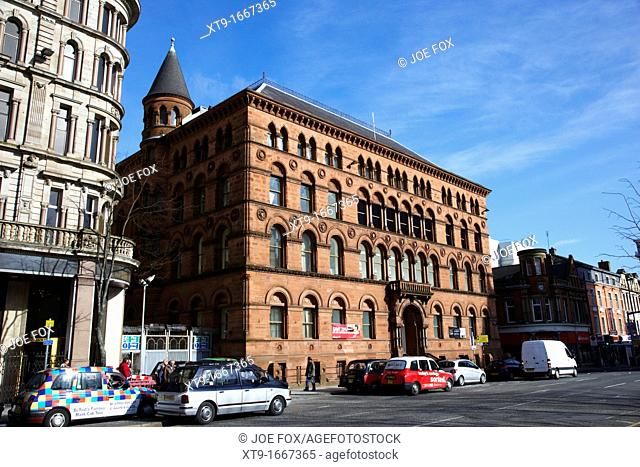 The Richardsons and Owdens warehouse now M&S in Donegall Square North Belfast Northern Ireland UK