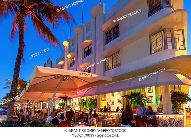 The Carlyle Hotel, South Beach, Miami, Florida, USA