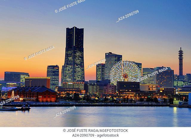 Japan ,Yokohama City, Yokohama Bay, Landmark Tower
