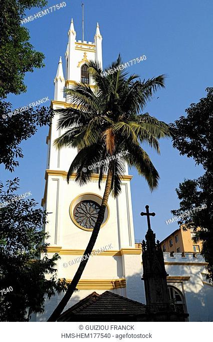 India, Maharashtra state, Mumbai Bombay, Fort district, Saint Thomas cathedral