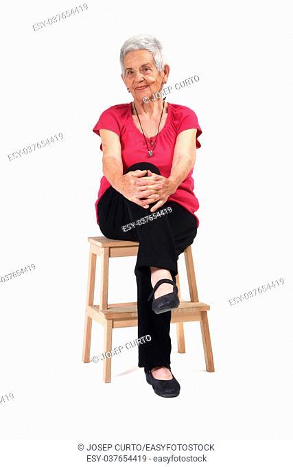 Portrait of a seniro woman